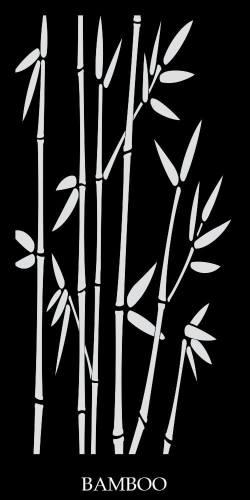 Bamboo Decorative Lasercut Screens