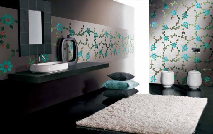حائط حمام رائع 8 1500x947 تصميمات حوائط مبهرة في 10 حمامات مودرن رائعة