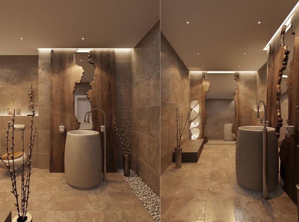 حمام 11 ديكورات حمامات في غاية الأناقة