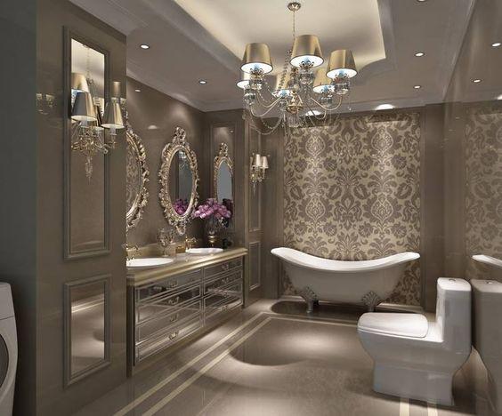 حمام 13 ديكورات حمامات في غاية الأناقة