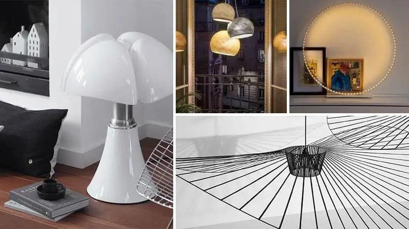 luminaires design 4 modeles de style