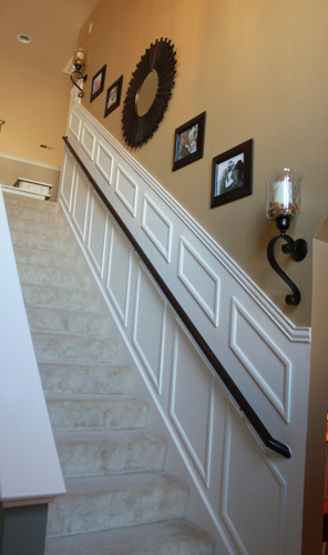 staircase makeover after
