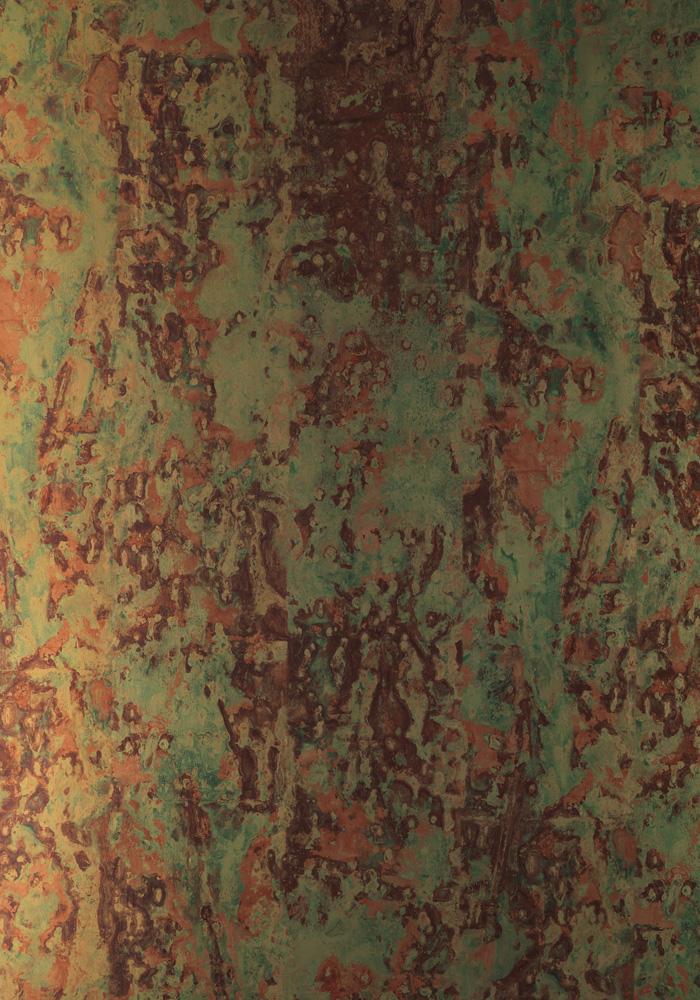 Phc 02 Spoiled Copper Metallic Wallpaper By Piet Hein Eek