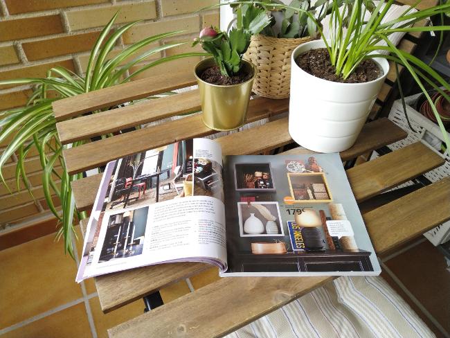 catálogo Ikea 2020 en mi terraza
