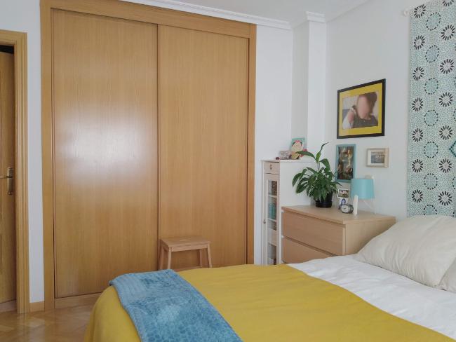 armario empotrado en dormitorio de matrimonio