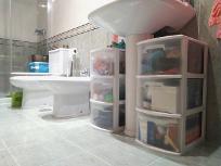 limpiar los muebles del baño - limpieza de primavera - junio relimpito