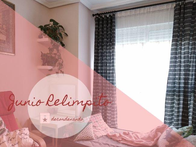 limpiar una ventana en el salón - junio relimpito