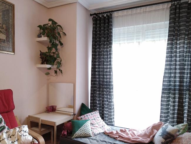ventana del salón