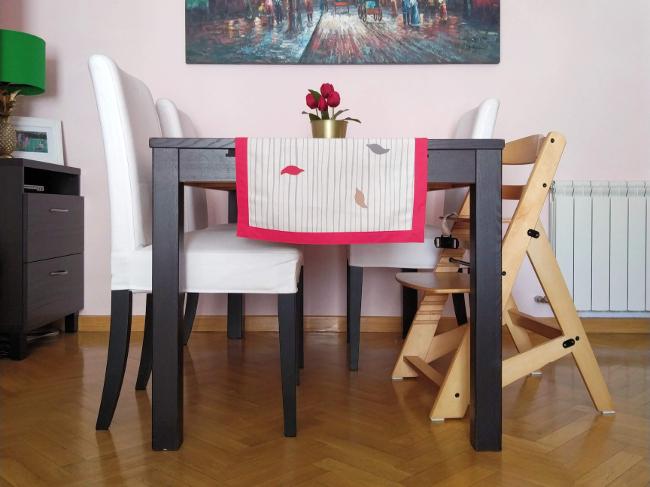 arreglando una silla desencolada con estilo personal - resultado final