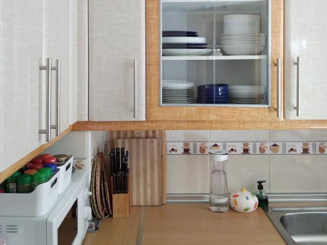 baldas a la vista en la cocina - qué poner ahí y cómo - decordenando