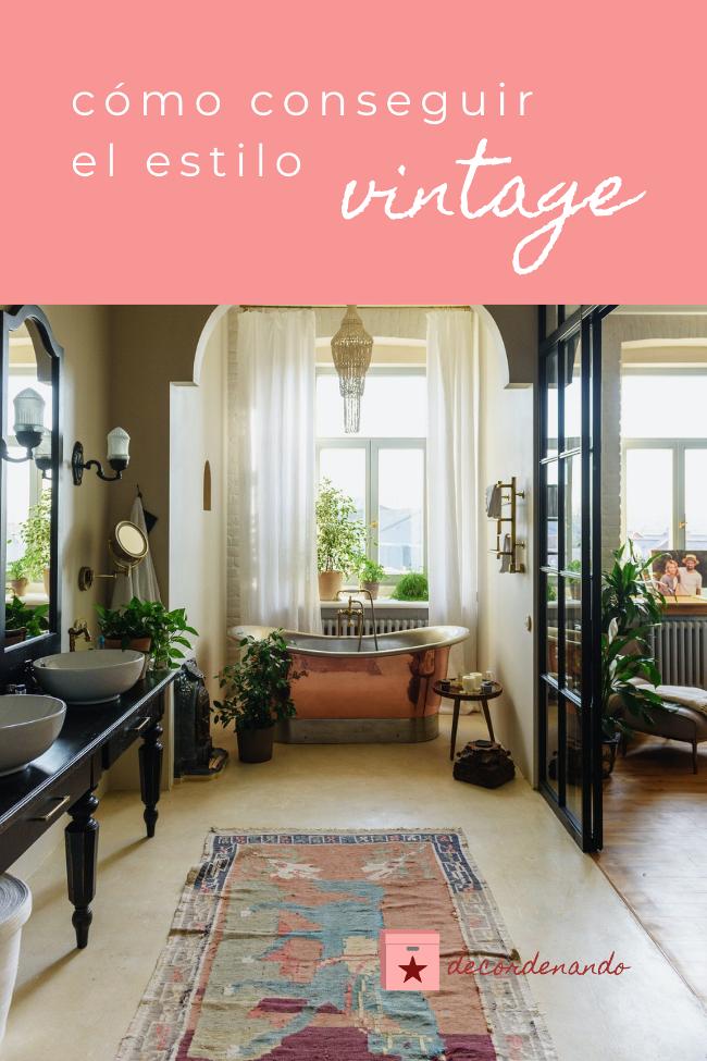 Imagen para Pinterest: cómo conseguir el estilo vintage