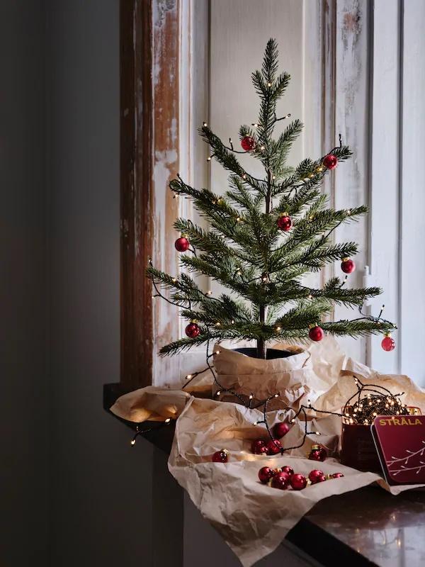árbol mini en Ikea