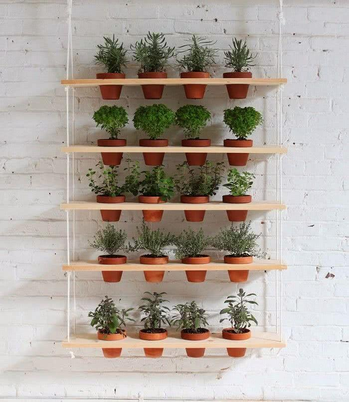 Hanging Herb Pots Indoor