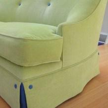 Custom sofa by Lisa M. Smith