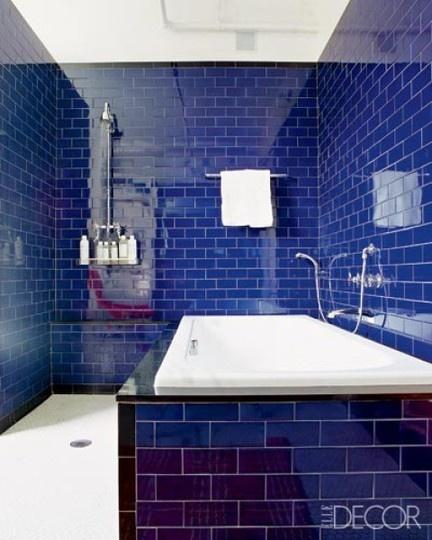 Elle Decor By The Baked Tile Company Mediterranean Bathroom