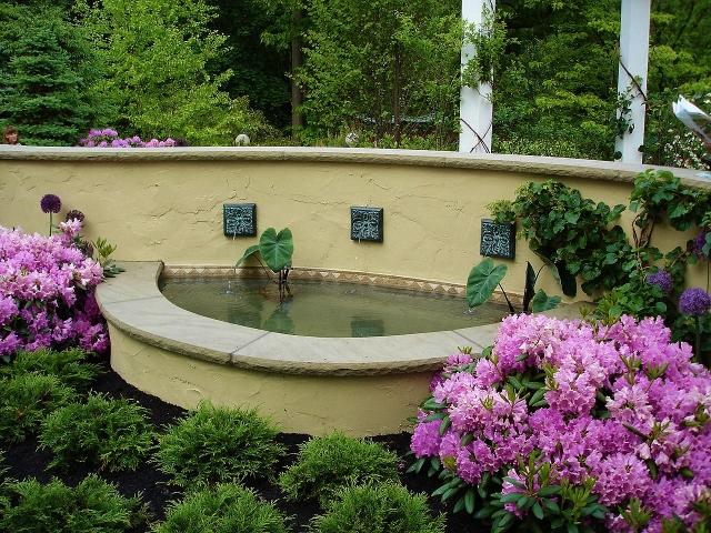 Above Ground Garden Water Features