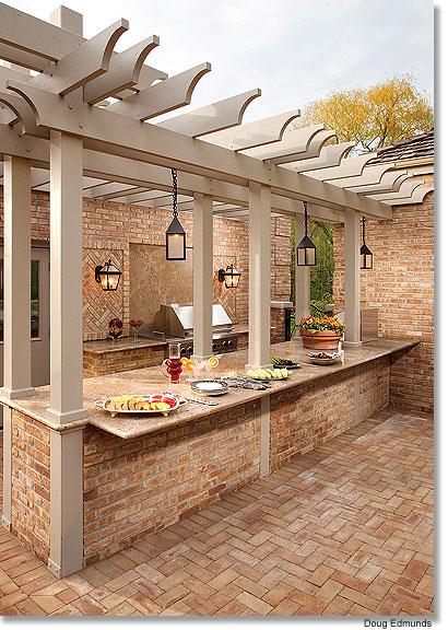 Outdoor kitchen via gmtoday