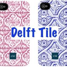Delft tile iPhone case