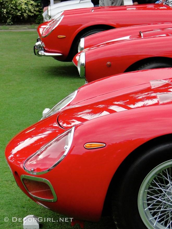 Distictive Ferrari noses