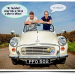 Filmmaker Falls For Cheeky British Morris Minor (Car)