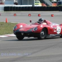 Vintage Maserati racecar