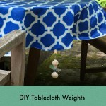 Easy DIY Fix To Make Sure The Outdoor Table Doesn't Blow