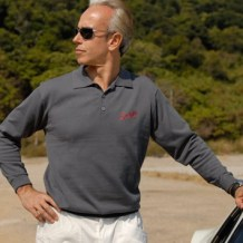 Suixtil menswear long sleeve polo