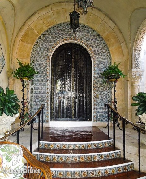 Front door to Mar-A-Lago