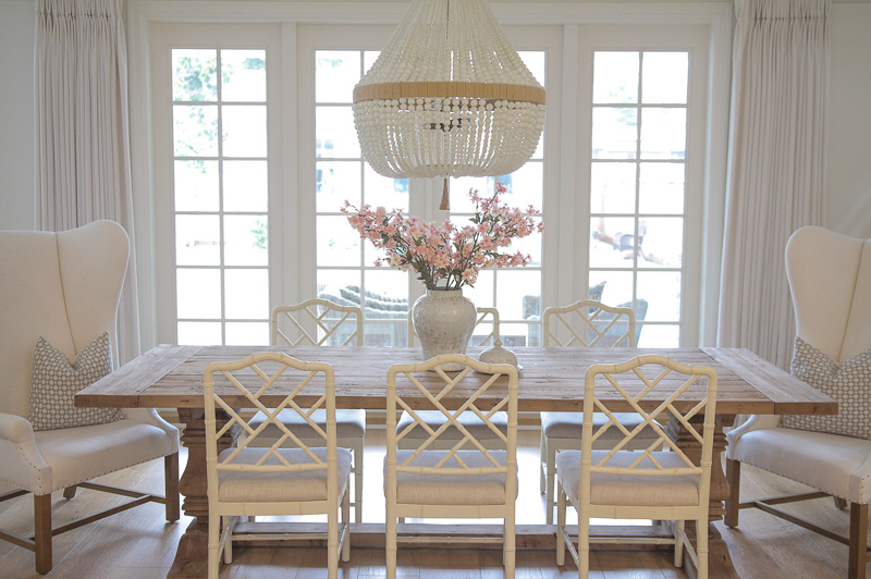 beautiful chandelier and a new project