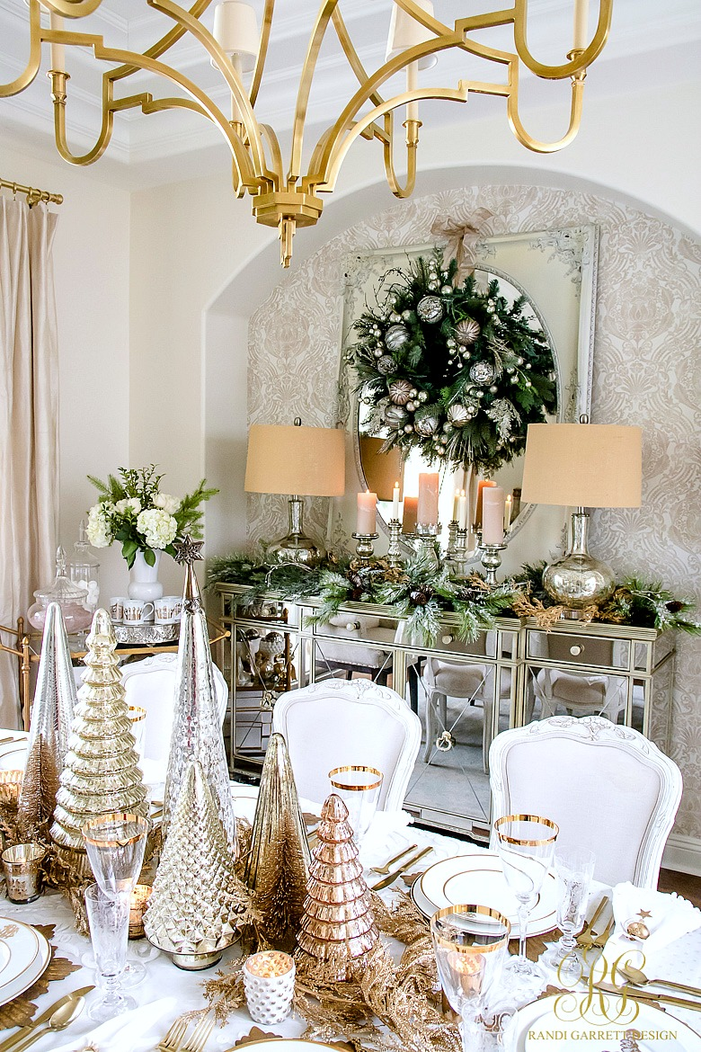 On Style Today 2020 11 23 Christmas Decorations For Dining Room Here