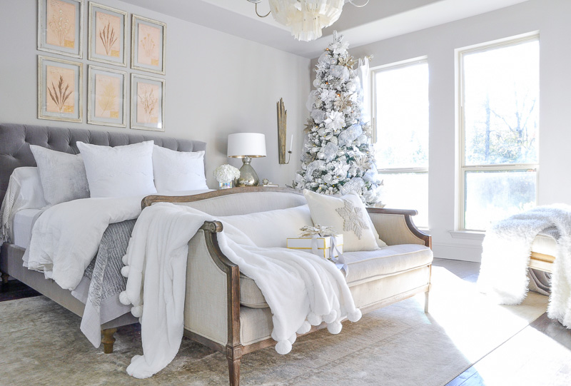 Winter Bedrooms Simple Christmas Touches By Decor Gold
