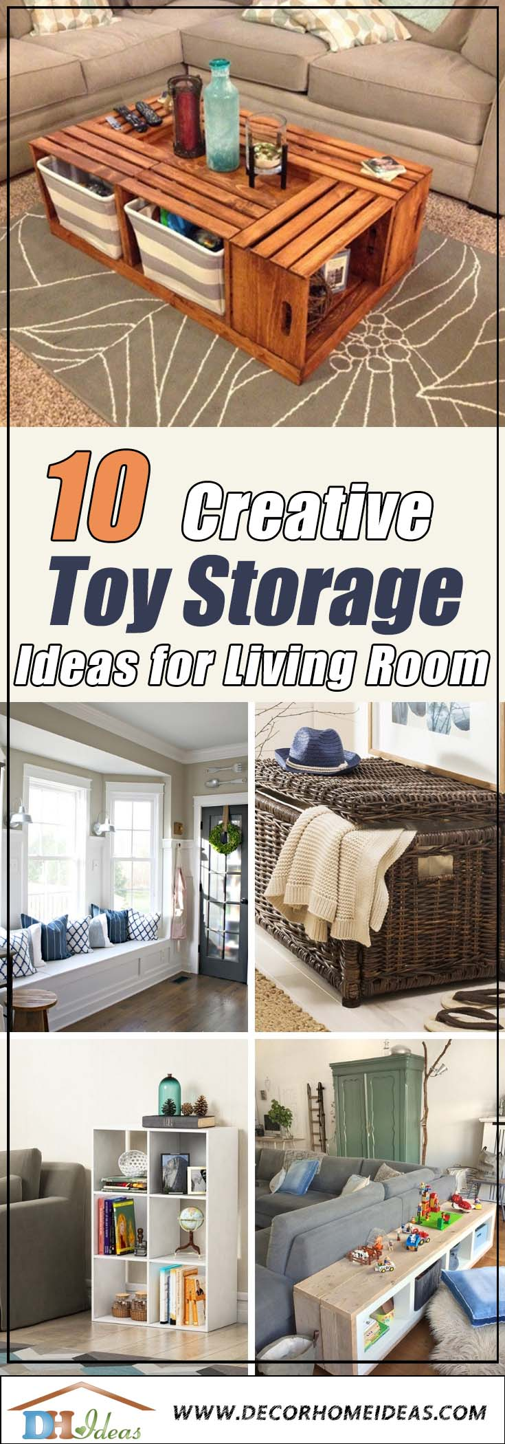 9 Best Toy Storage Ideas For Living Room Decor Home Ideas