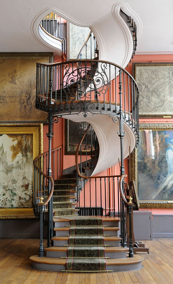 Thiết kế cầu thang theo phong cách Baroque # cầu thang # cầu thang # cầu thang # cầu thang #decorhomeideas