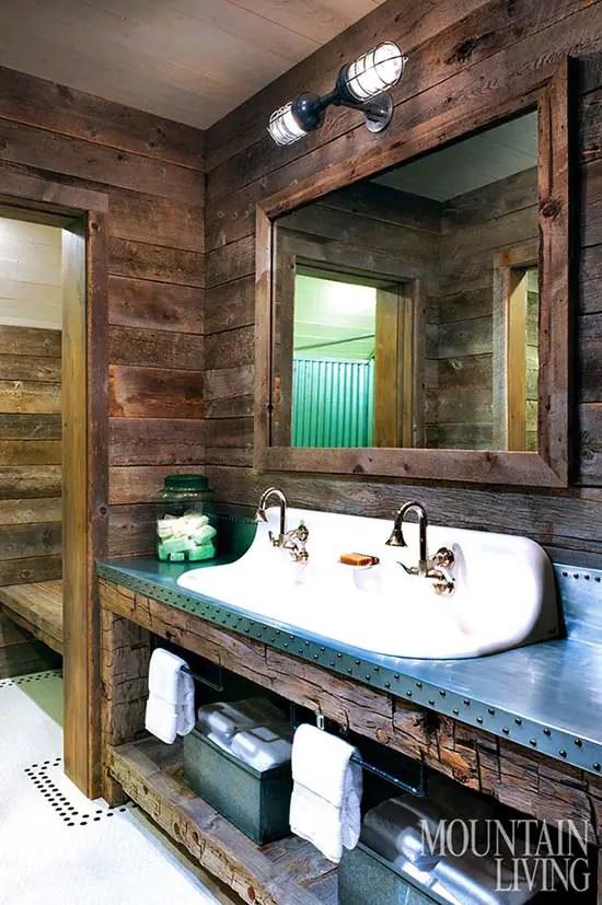 14 Amazing Farmhouse Trough Bathroom Sink Designs Decor