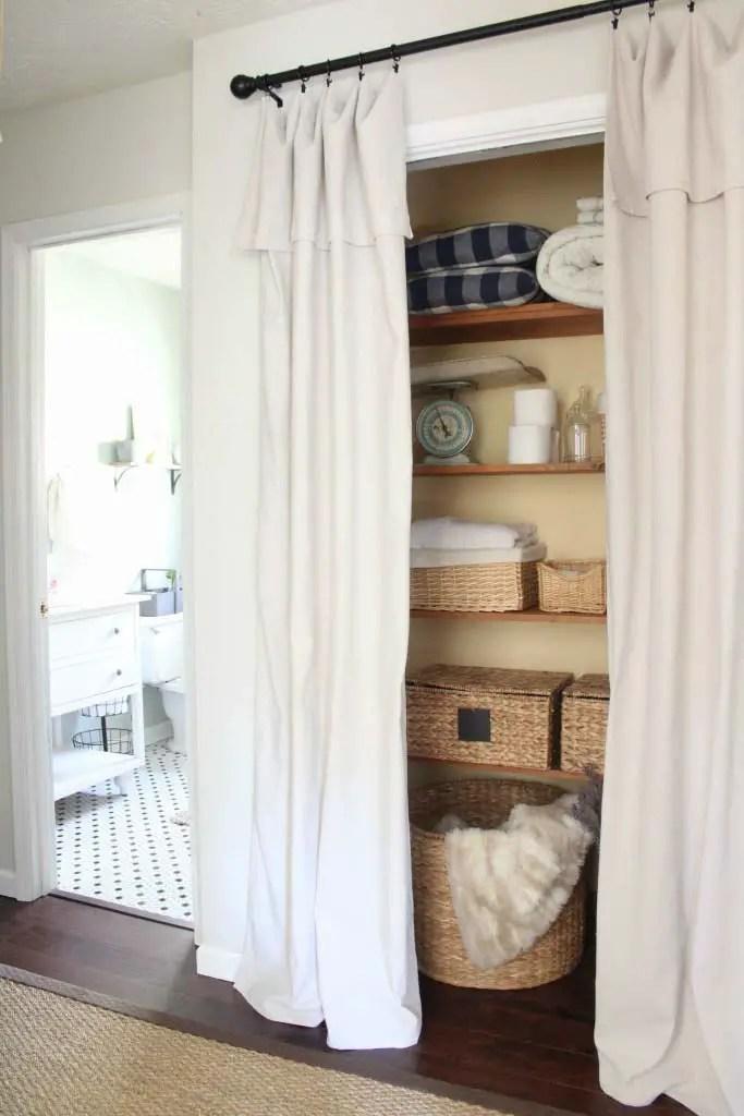 18 tidy curtain closet doors to conquer