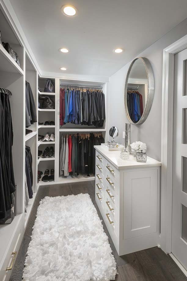 35 Best Walk In Closet Ideas and Designs for 2021   Decor ...