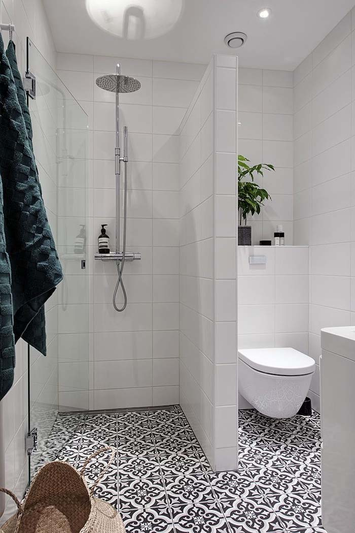 33 amazing shower tile ideas to add