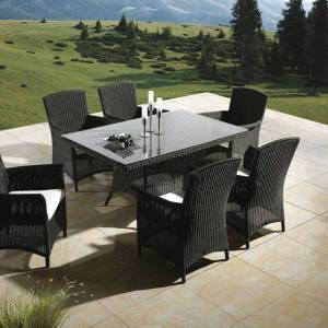 Home 7 Piece Conversation Set with Cushion