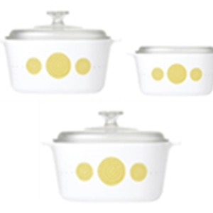 CorningWare 6pc Casserole Spiral Set A-140-SPL