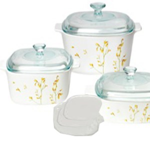 CorningWare 9pc Casserole Kobe Set A-401-KE