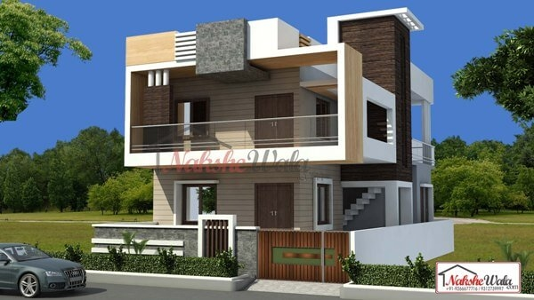 House Front Design   Home Front Staircase Design   Front Side Arch   Outer Wall   Outside Stair   Elevation Lighting   Wooden Stair