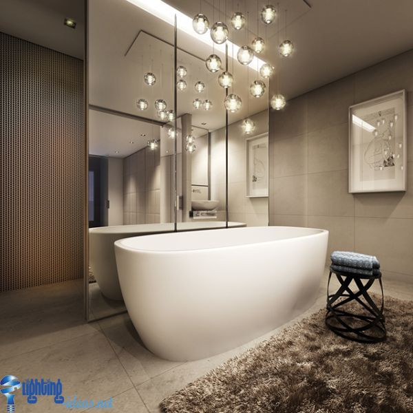 bathroom lighting ideas creative and