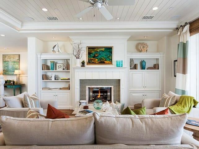 Family Room Beach Decor