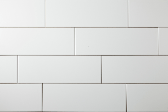 Manhattan 4 X 12 Snow White Matte Subway Tile Sold As 4 Cartons Decorist