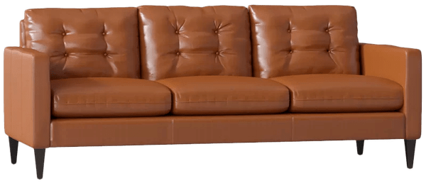 leather sofa black walnut steamboat chestnut