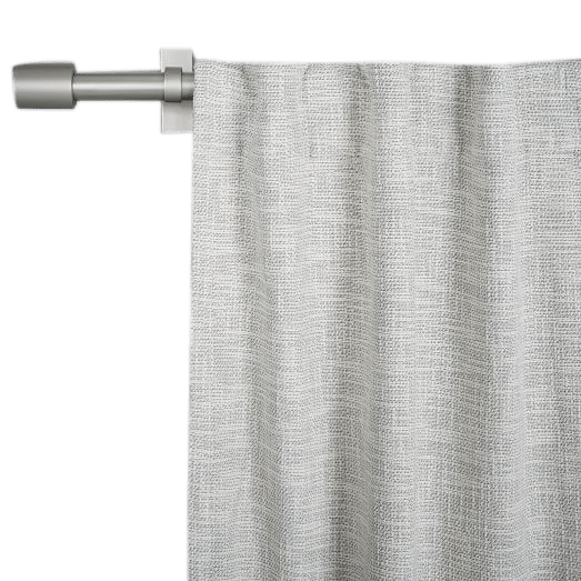 cotton textured weave curtain blackout lining ivory 108