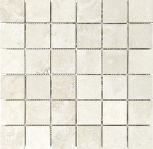 anatolia tile filled and honed travertine natural stone mosaic square wall tile