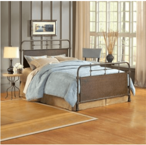 Decor Look Alikes | JCPenney Elliot Old Rust Metal Bed