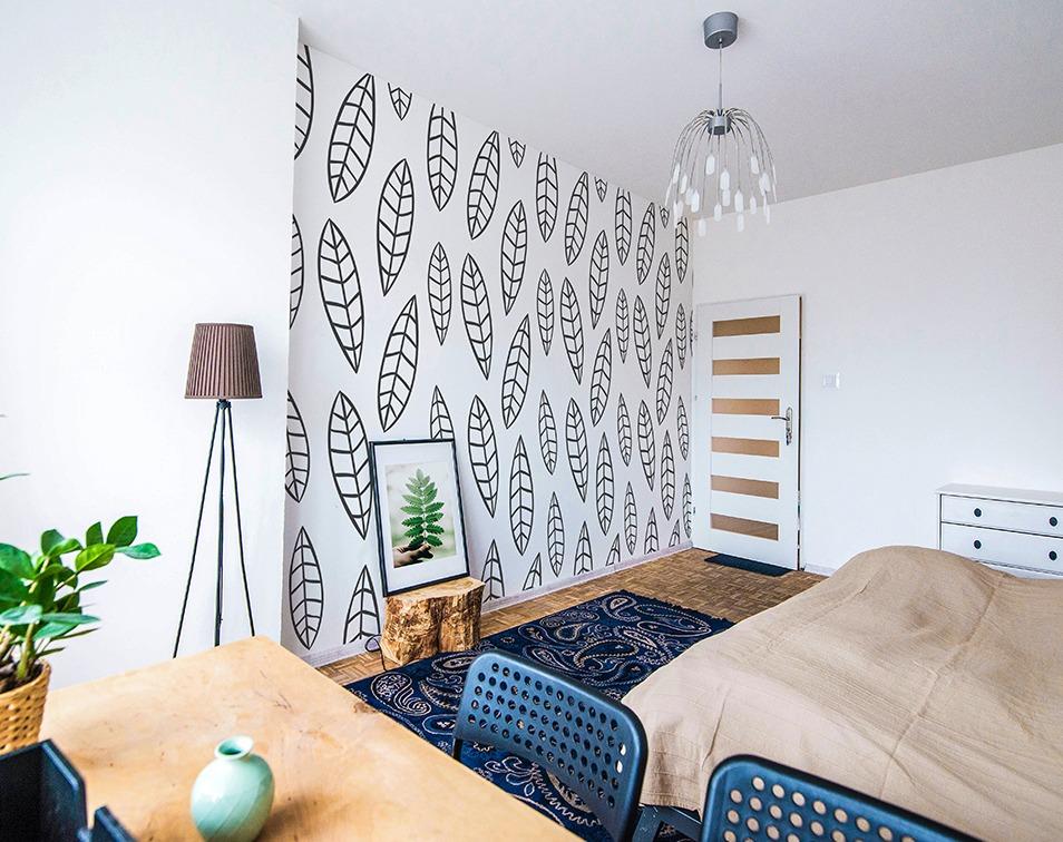Tapeta na ścianie. Jaki kolor ścian do sypialni wybrać