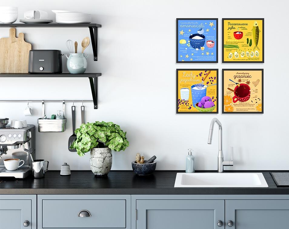 Kalendarz 2020 jako dekoracje kuchenne